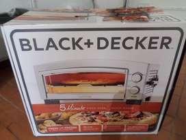 Horno Pizzero Black and Decker