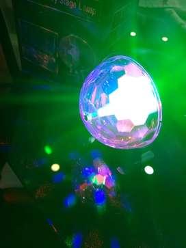 Lámpara giratoria LED RGB