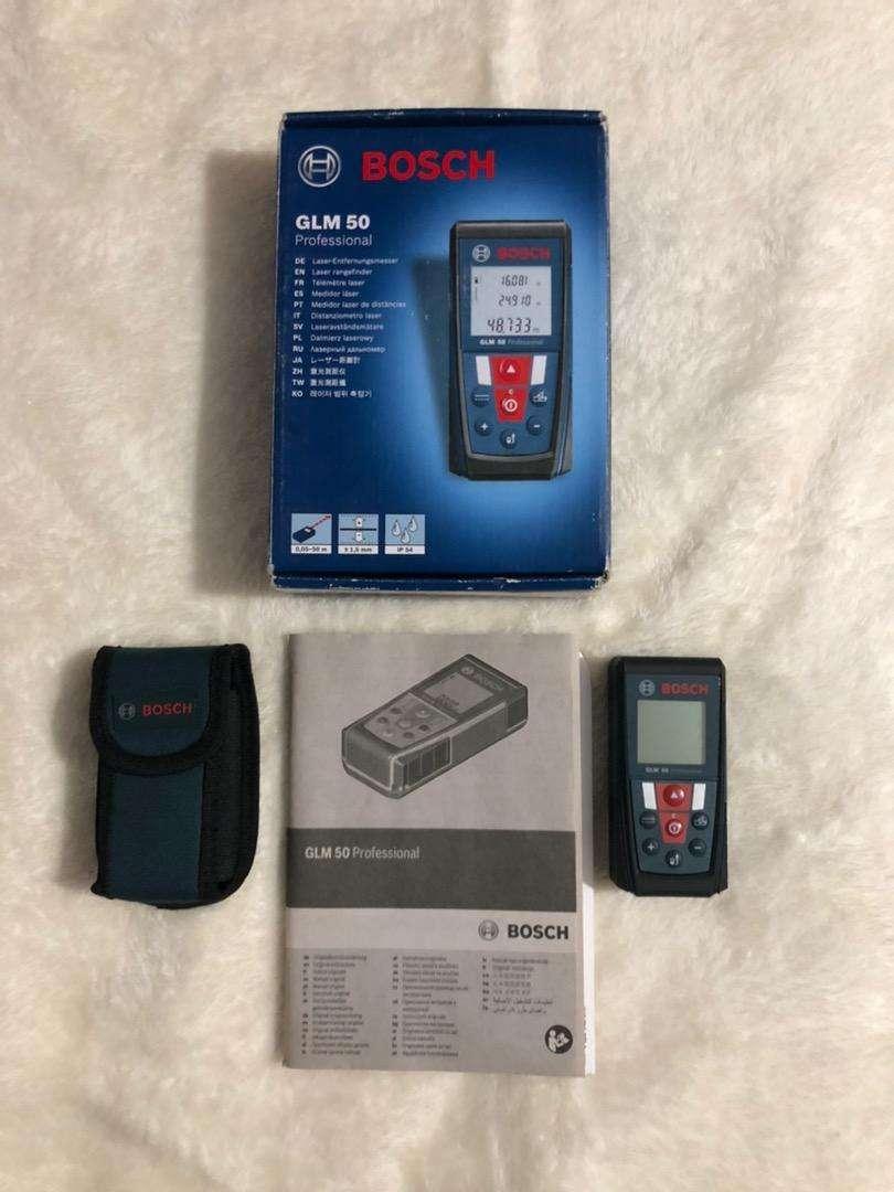 Medidor laser Bosch GLM 50 Professional 0
