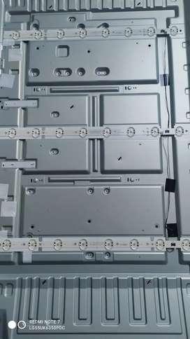 Vendo Kit Tiras Led Tv LG 55UK6350PDC