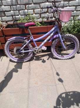 Bicicleta para niña - remate