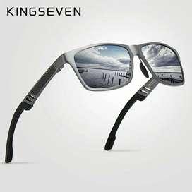 Lentes KingSeven Polarizados Protección Uv400 | Caja y con Accesorios!