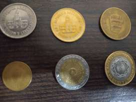 Vendo set monedas argentina