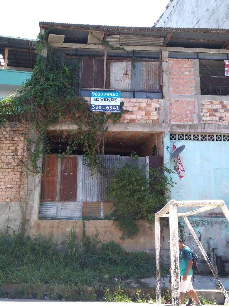 Venta de casa de dos pisos en Belen - Loreto 0
