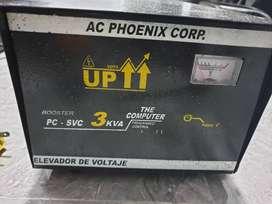 Elevador De Voltaje 110 A 220 3kva