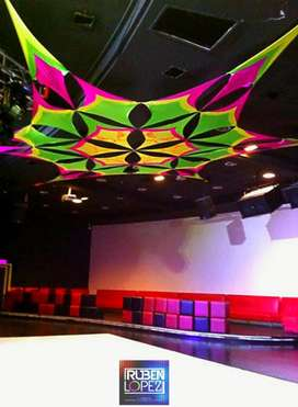 EVENTOS RUBEN NEON EXPERIENCE decoracion sonido make up pantallas todo por 2.000.000