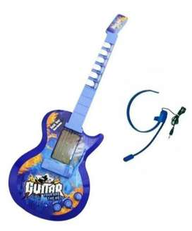Guitarra Eléctrica Infantil Micrófono Diadema