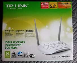 Access Point Tl-wa801nd Tp Link 300 Mbps