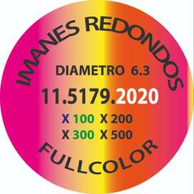 Imanes Redondos