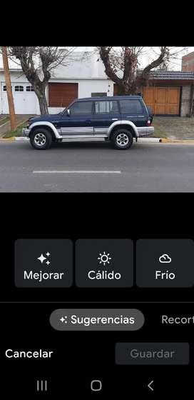 Montero 2.8 intercooler ,diésel comun ,malacate electrico,no gasta nada de combustible, techo corredizo