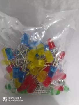 Bolsa de leds de colores