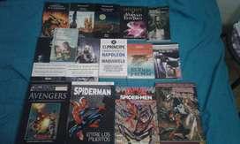 Libros de terror, clásicos y comics, todos en muy buen estado