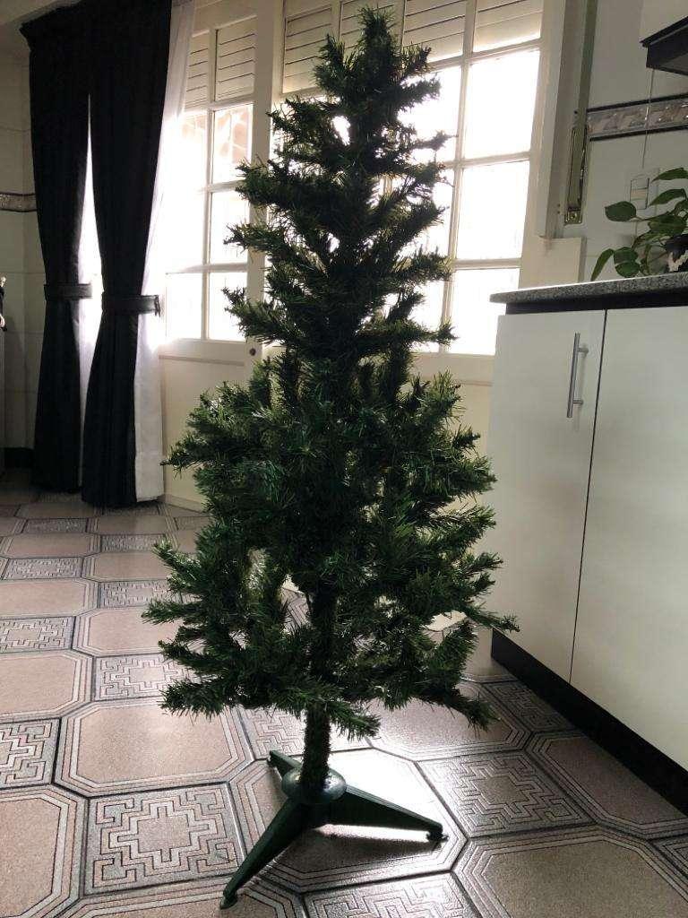 Arbol Navidad Adornos Luces Pesebre 0
