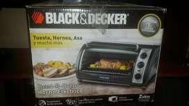 Black & Decker Horno eléctrico  nuevo.