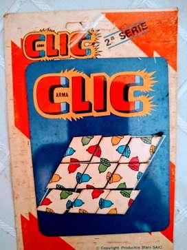 Arma Clic 9 Piezas campanas Rompecabeza  Carton Original