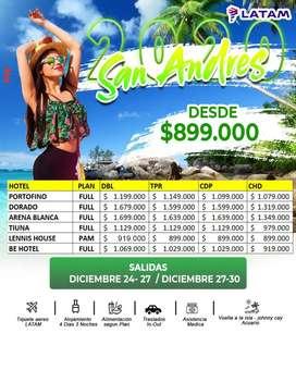 Fin de año San Andrés