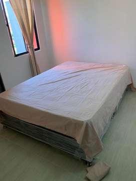 Base cama mas colchon