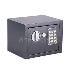 Caja fuerte digital pequeña color negro entrega inmediata contra entrega Bogota producto nuevo