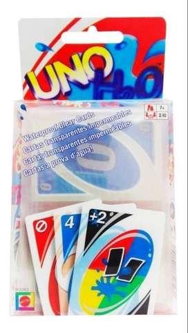 Cartas Uno H2o Juego De Mesa 100% Original