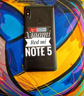 Vendo celular Xiaomi RedMiNote 5