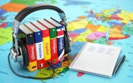 Cursos de inglés, portugués, francés, italiano
