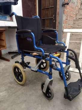 Vendo silla de rueda de paseo