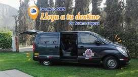 Servicio VAN en traslados en Lima