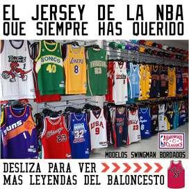 Jerseys / Camisetas Máximas Leyendas Baloncesto De La Nba