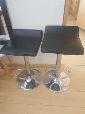 Dos sillas de bar GANGA APROVECHE