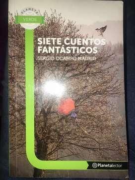 Libro siete cuentos fantásticos