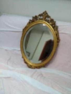 Oportunidad, espejo antiguo