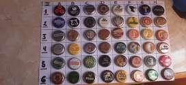 Colección chapas del mundo