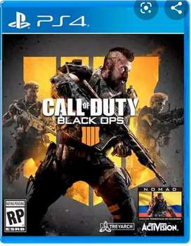 Vendo call of duty black ops 4