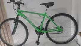 Bicicleta montañera marca driver numero 26 nueva de cambios