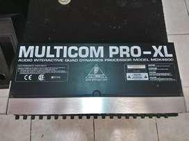 Procesador Multipro-xl marca behringer