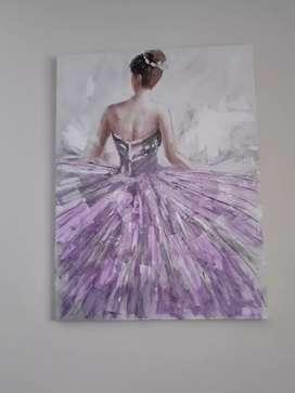 Cuadro bailarina