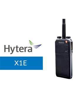 Radio Hytera DMR Portátil Ejecutivo X1e IP67 Sin Pantalla