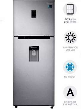 Nevera Sin Escarcha 375 Litros Gris Rt35k5930s8 Top Freezer