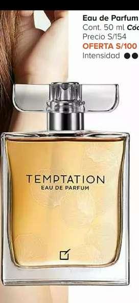 Vendo Perfumes para dama y caballeros Dendur Temptation