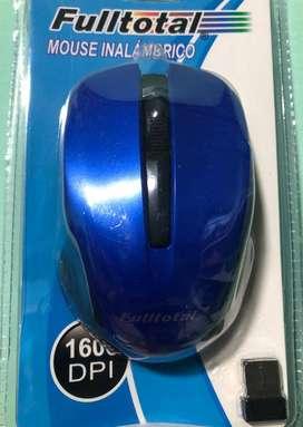 Mouse inalámbrico Fulltotal USB