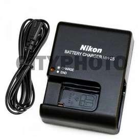 Cargador Nikon Mh-25 (nuevo) Bateria En-el15/en-el15a Tienda