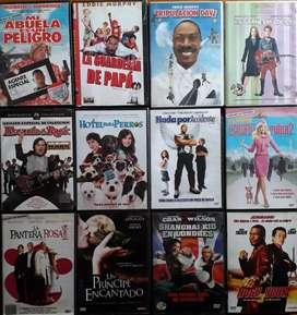 240 Peliculas originales usadas en DVD