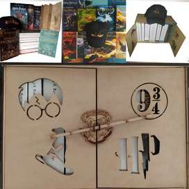 Caja De Coleccion Harry Potter x 10 libros