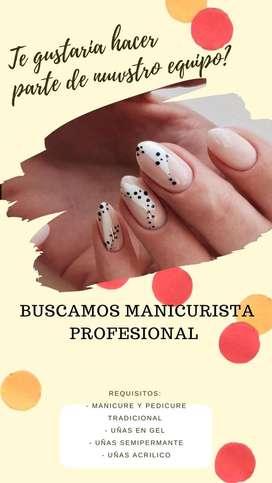 Manicurista profesional
