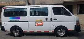 Se vende nissan urban, muy buen estado para 16 pasajeros, km 130.000