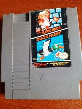 Super Mario Bros con manual para Nintendo Nes