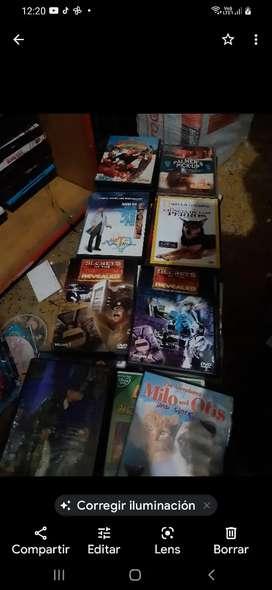 DVDs películas originales a 9000 pesos colombianos