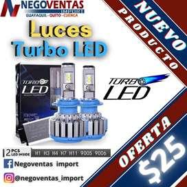 LUCES TURBO LED VARIAS NUMERACIONES