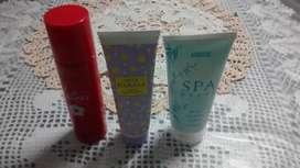 Promocion Desodorante, Crema para manos y Crema para piernas