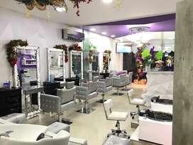 Salon de belleza y spa